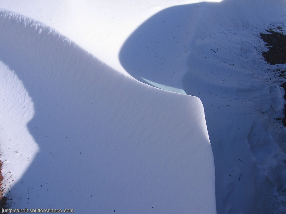 photoblog image Snow Drift