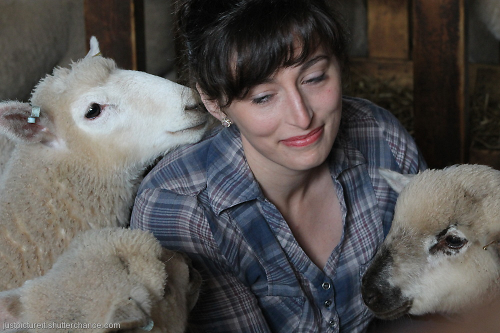 photoblog image Lindsey and the Lambs